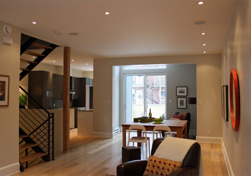 Family home by ecoHabitat, staged by Moving On / Photo: Heather @ Moving On