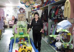 Owner Rosie in her shop / Photo: Moving On
